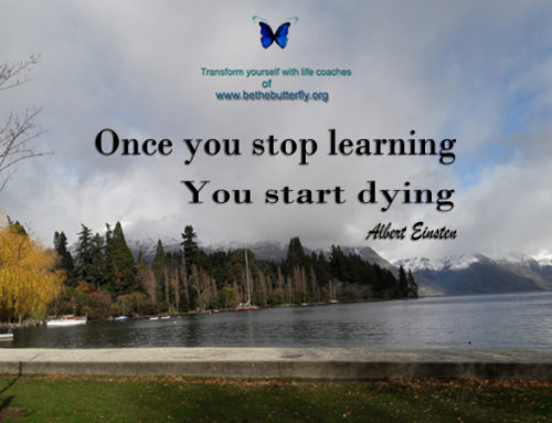 Never stop learning beacuse life never stops teaching!